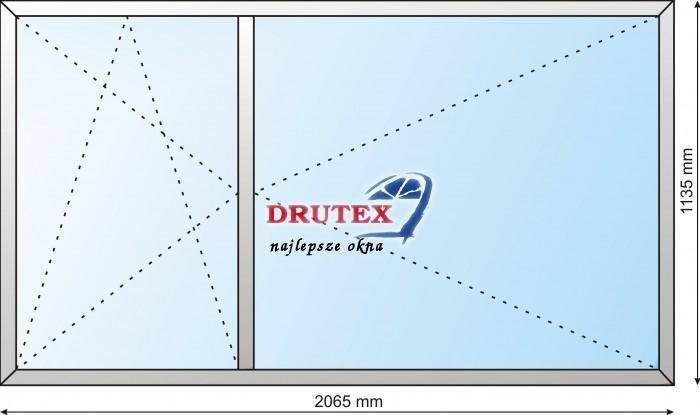 drutex okno pcv iglo5 2065x1135 r ur dd company drzwi. Black Bedroom Furniture Sets. Home Design Ideas