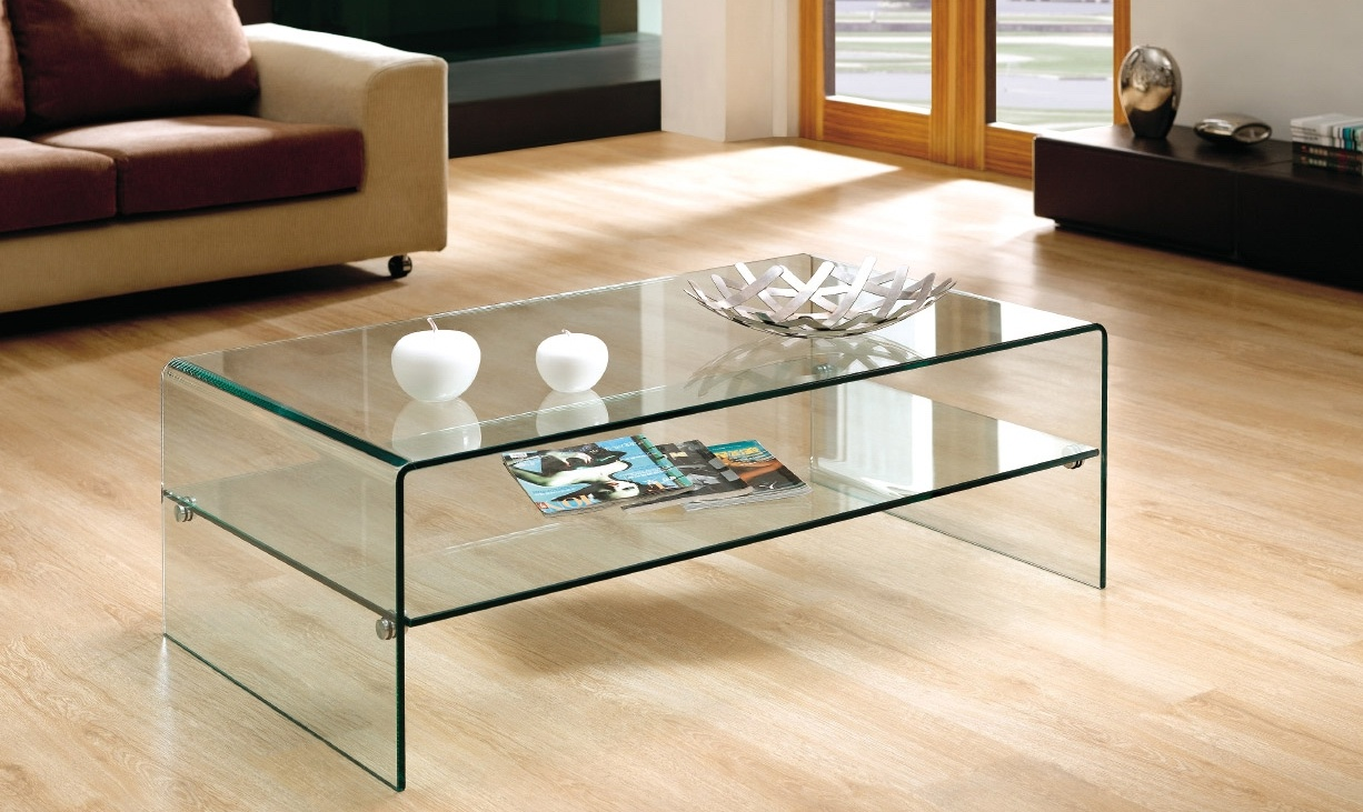 Stolik ława Szklana Model Ideal Medio Dd Company Drzwi Okna