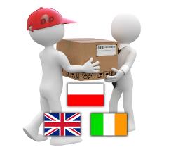 wysyłka zagraniczna - export